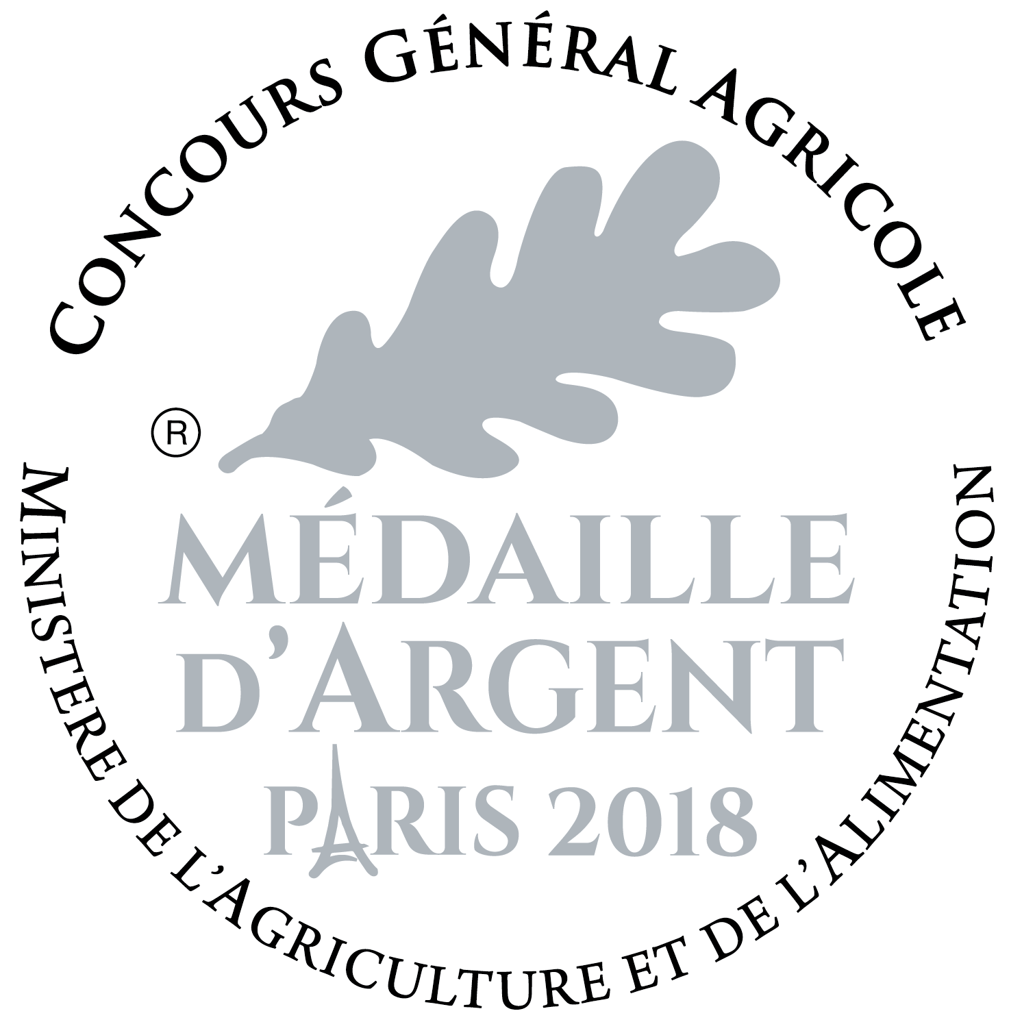 medaille-argent-concours-agricole-2018