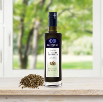 Guenard hempseed oil, rewarded